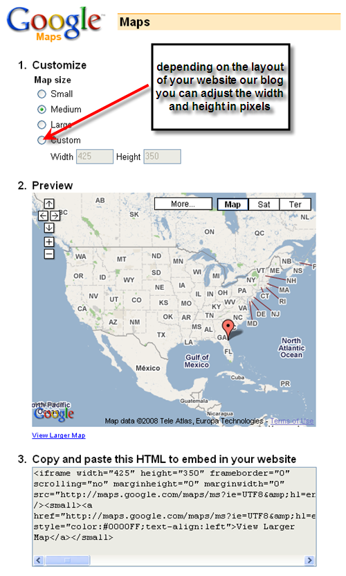 how to draw a straight line in google maps