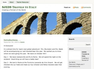 SJEDS Travels to Italy