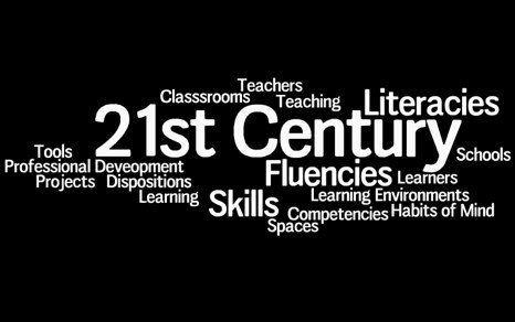 Wordle including 21st Century Skills and other current terminology