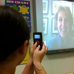 Recording our Skype Visit