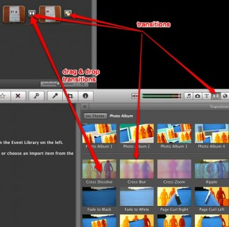 how to move pictures on imovie