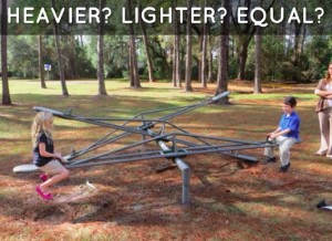 heavier-lighter-equal