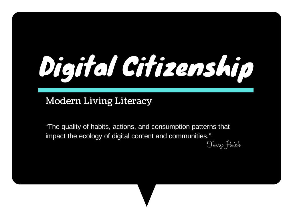 digital citizenship Instilling the principles of good digital citizenship can help students become smart, responsible, and respectful members of their online communities.