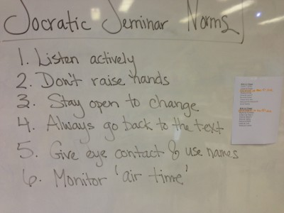 Socratic seminar and the backchannel silvia tolisano for Socratic seminar lesson plan template