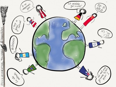 Truly Global? | Silvia Tolisano- Langwitches Blog