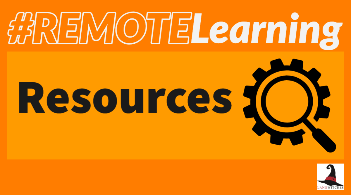 #remotelearning Resources